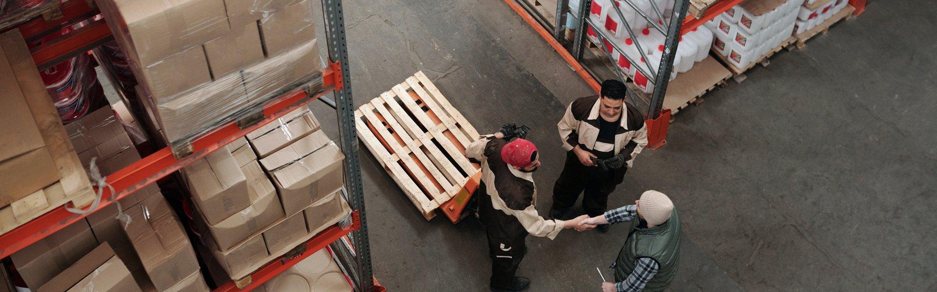 Industria embalaje almacén